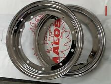 Vespa Nice Quality Chrome Wheel Rim 10 inch PX T5 50 SPECIAL RALLY