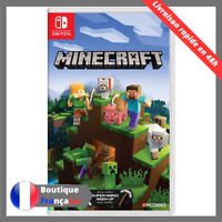 Minecraft Switch Version Francaise Neuf - Sous Blister Jeu Video Switch Lite New