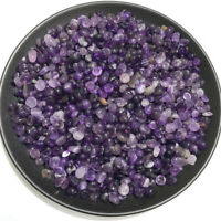 Amethyst Ore Crushed Gravel Stone Chunk Lots Degaussing improve natural crystal