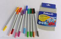 PELIKAN 949511 Fasermaler Colorella Twin 20-farbig Stifte Malstifte 10 Stifte