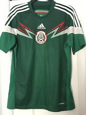 Mexico Kids Adidas Jersey Size XL National Team World Cup 2014 Home