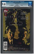 X-FILES: SEASON ONE #1 CGC 9.8 (7/97) Topps Comics white pages