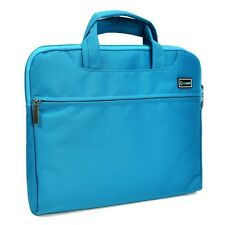 "Blue Nylon Lycra Fabric Sleeve Briefcase for All 11"" Macbook Air / Chromebook"