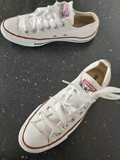 Converse All Star women's shoes size 5 (eur 37.5) White