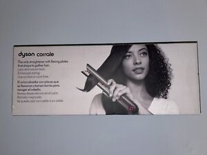 BRAND NEW, Never Open Dyson Corrale Hair Straightener Black Nickel/Fuchsia Color