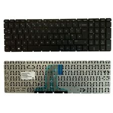 for HP HP 15-ac151na 15-ac152sa 15-ac153na 15-ac153sa UK Layout Keyboard Black
