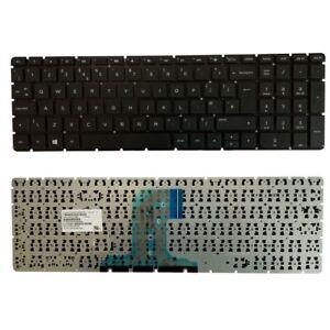 for HP 15-ac107na 15-ac108na 15-ac109na 15-ac151na UK Layout Keyboard Black