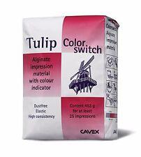 Cavex tulip Chromatic dental alginate impression material MINT Flavor