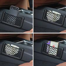Universal Car Seat Side Back Net Storage Bag Phone Holder Pocket Organizer LN