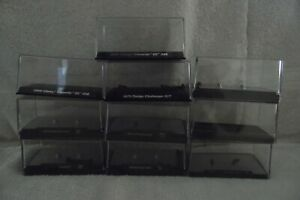 10 M2 MACHINES & OTHERS 1/64TH SCALE DISPLAY CASES & BASES