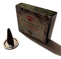 Hem Precious Jasmine Incense Cones (10 Cones Per Box - Single Pack)