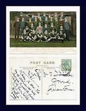 UK COLONIAL SOUTH AFRICA RUGBY SPRINGBOKS FOOTBALL TEAM POSTED GRAHAMSTOWN 1906