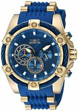 Invicta Men's 'Bolt' Quartz Stainless Steel and Silicone Casual Watch 25527