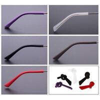 Soft Silicone Anti Slip Eyeglasses Glasses Temple Tips Accessories Square Hole