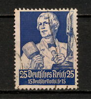 (YYAW 301) Germany 1934 USED Mich 563 Scott B66 SEMI Third Reich Nazi Sculptor