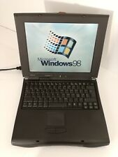 NOTEBOOK VINTAGE LAPTOP WINDOWS 98 ACER TRAVELMATE 506T FLOPPY SERIALE USB