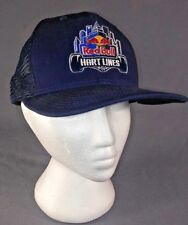 New Era 9Fifty Red Bull Hart Lines hat, snapback, mesh, skateboarding, vntg rare