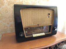 Radio a valvole Philips Bx 538A vintage anni 50 bachelite No Balilla Rurale