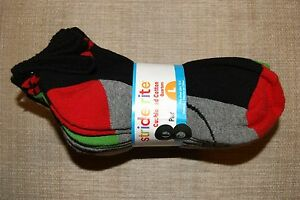 NWT New Boys Kids Stride Rite cotton blend socks S, M & L no show and quarters