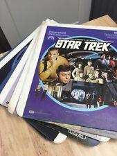 Rca Selectavision Videodisc 6 Star Trek Movies 7 Disc