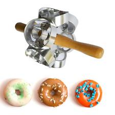 Donut Maker Cutter 6 Sides Roller Revolving Mold Doughnut Fondant Baking Tool US