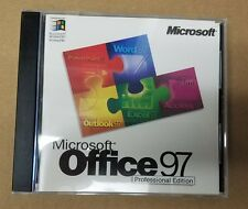 Microsoft Office 97 Professional Edition w/ CD Key