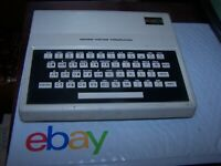 Radio Shack TRS-80 Micro Color Computer Model MC-10 SOLD AS IS