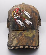 Native Pride Dream Catcher Ball Cap Hat in Camo New H34