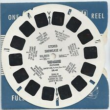 DR-44 Stereo Showcase of View-master Pictures Demonstration Reel