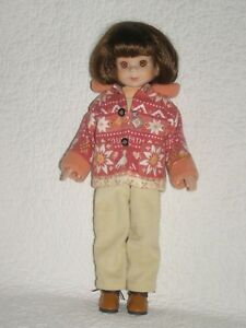 """BETSY McCALL:  """"Betsy Goes Hiking""""  14"""" Hard Plastic Doll by Robert Tonner"""