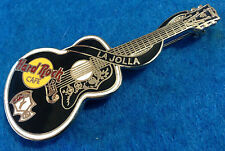 LA JOLLA ELVIS PRESLEY HRC DEAD ROCKER ACOUSTIC GUITAR Hard Rock Cafe PIN