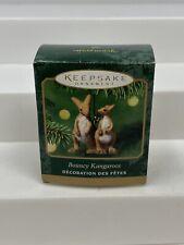 Hallmark Keepsake Bouncy Kangaroos Miniature Ornament 2001