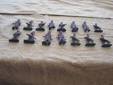 VINTAGE 15 METAL ARMY MILITARY SOLDIER TOY LOT antique hand painted