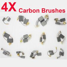 4pcs Carbon Brushes Repairing Part For Generic Electric Motor Various Size Tool
