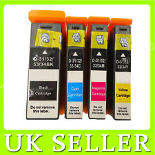 4 Ink Cartridge for Dell 31/32/33/34 Dell V525 V525W V725 V725W