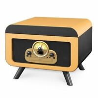 Innovative Technology Victrola 5 in 1 Record Player with Bluetooth and CD Player