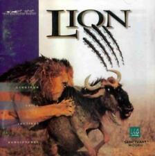 Lion: A Wildlife Simulation PC CD hunt prey wild Safari animal predators game!