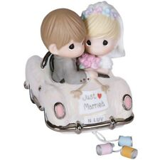 Precious Moments Just Married , Newlywed Couple , Wedding Gift # 103018