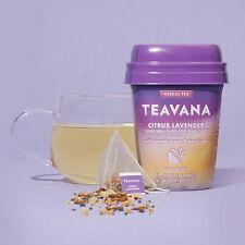 TEAVANA Citrus Lavender Herbal TEA 15 Sachets Caffeine Free NEW *Best By 11/19*