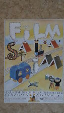 (D62) DDR-Plakat FILM SALABIM - DEFA - Grafik: Stock 1984