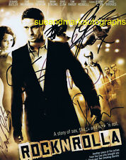 RocknRolla Photo Signed by 7 (see description) Autograph UACC RD 96     SALE