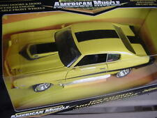 1970 Chevelle Yellow Baldwin Motion 1:18 Ertl American Muscle 32396