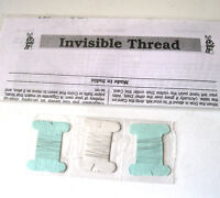 Invisible Thread Single Strand Spools Floating Dollar Bill Levitate Magic Trick