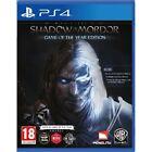 PS4 Spiel Mittelerde: Mordors Schatten - Game of the Year Edition GOTY NEUWARE