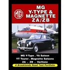 MG Y-Type & Magnette ZA/ZB Road Test Portfolio book paper