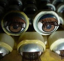 10 paia wippaugen pieghevole occhi sonno occhi F. BAMBOLE COLORATE afro palpebra scuro