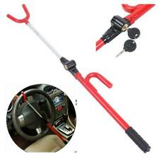 Auto Anti-Theft Security System Steering Wheel Lock w/Keys SUV Truck Universal