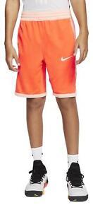 Nike Boy's Dri-FIT Elite Basketball Shorts (Hyper Crimson/Washed Coral) AQ9473