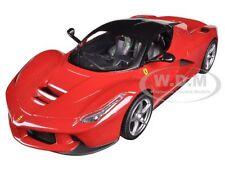 FERRARI LAFERRARI F70 HYBRID RED 1/24 DIECAST MODEL CAR BY HOTWHEELS BLY61