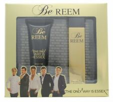 THE ONLY WAY IS ESSEX BE REEM GIFT SET 100ML EDT + 100ML SHOWER GEL - MEN'S. NEW